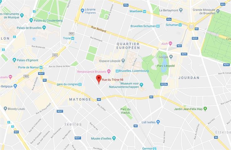 Immeuble de bureaux - Ixelles - #3746433-1