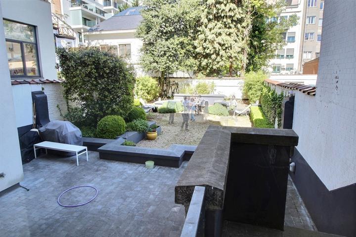 Rez-de-ch. avec jardin - Saint-Gilles - #3759098-1