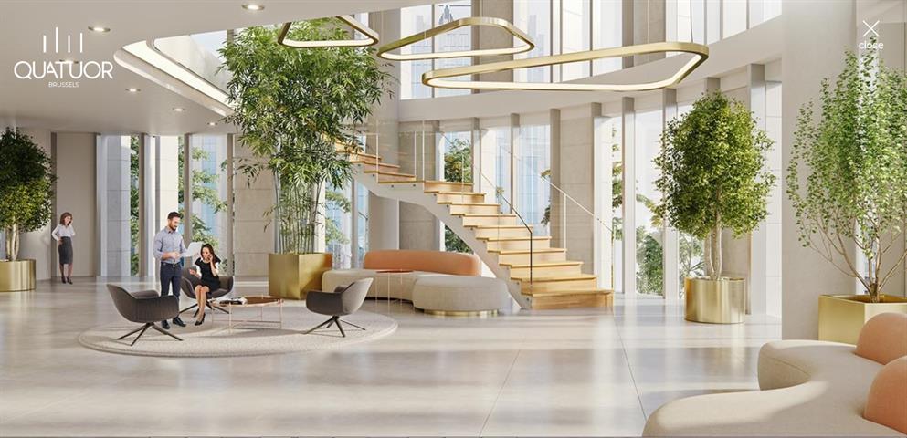 Immeuble de bureaux - Bruxelles - #3793023-4