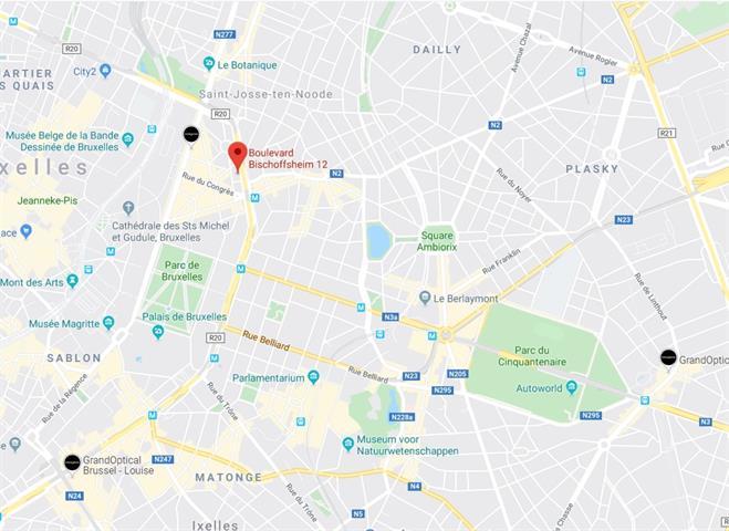 Bureaux - Bruxelles - #3952588-1