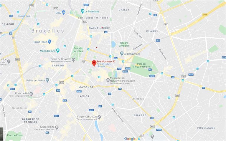 Immeuble de bureaux - Bruxelles - #4026234-1